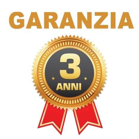 GARANZIA 3 ANNI